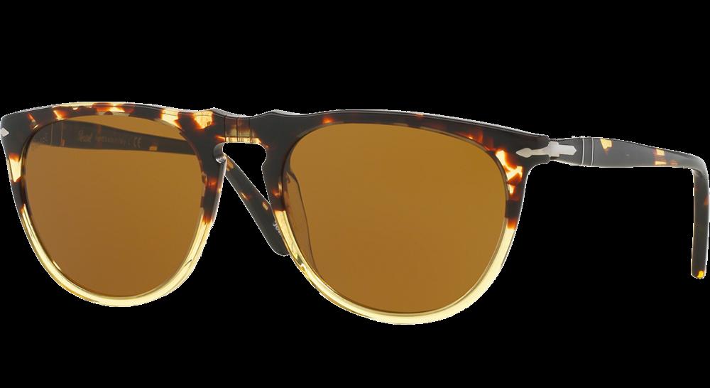 persol-3114s-vintage-celebration-ebano-e-oro-brun les lunettes de soleil idéales pour vos vacances verres mirroir miroité effronté