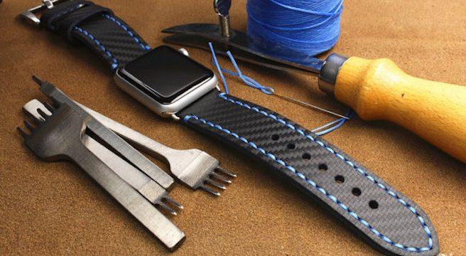 Enlacez-vous - 10 bracelets Apple Watch artisanaux fait à la main effronté