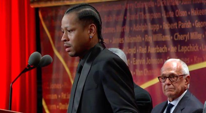 Le discours de Allen Iverson au Hall of Fame NBA 2016 speech personnel touchant émouvant