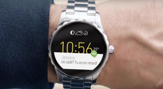 Montre connectée Fossil Q à écran tactile ! Design et tendances...