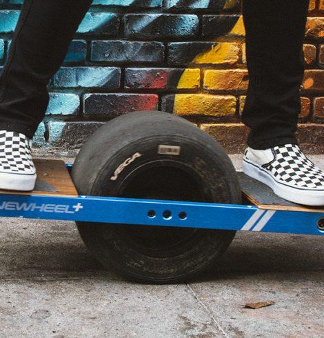 ONEWHEEL+, le snowboard de rue !