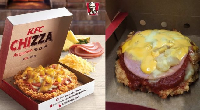 Les réseaux sociaux partent en vrille avec la Chizza de KFC 01