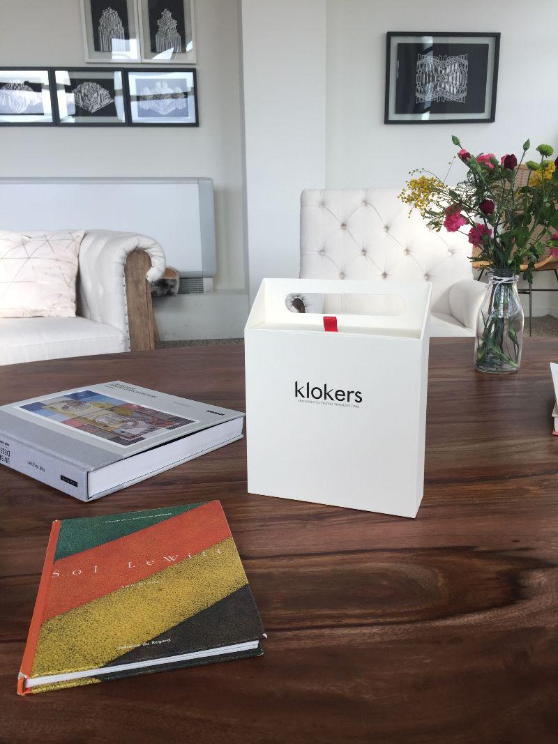 Montre Klokers KLOK-01, cadeau parfait pour la Saint-Valentin packaging expérience qualité montre cadran sens inverses effronté 01