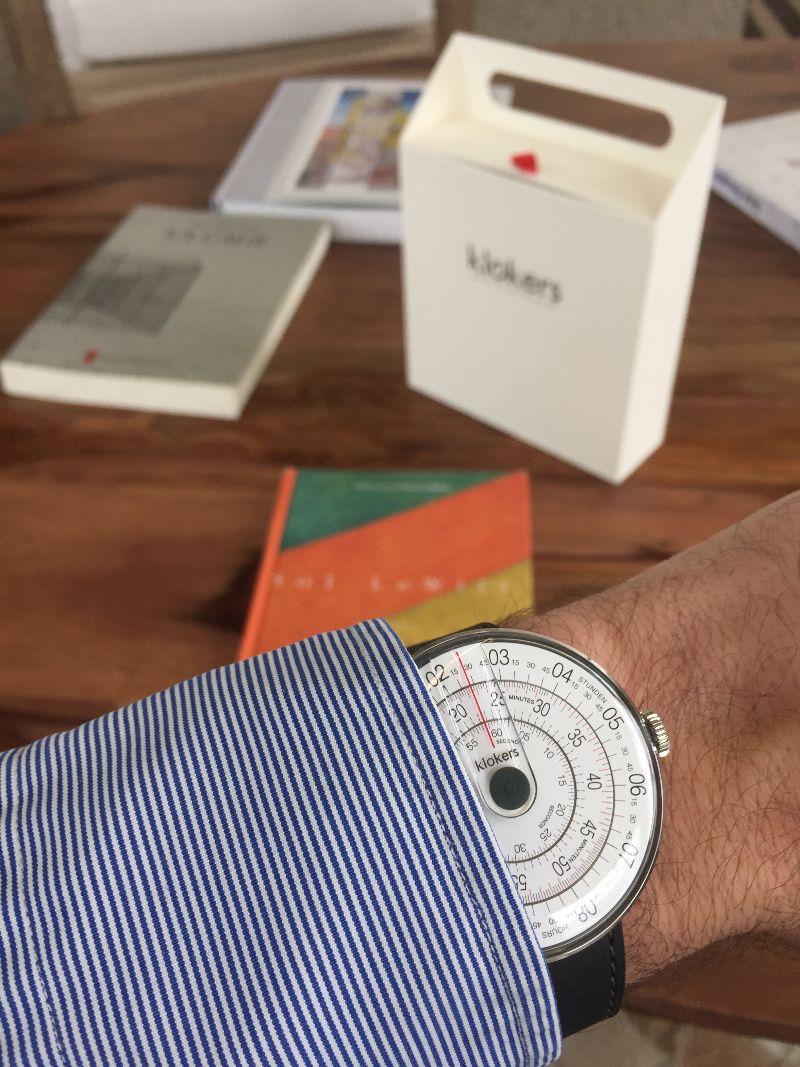 Montre Klokers KLOK-01, cadeau parfait pour la Saint-Valentin packaging expérience qualité montre cadran sens inverses effronté 10