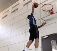 Sergio Ramos pose un dunk puis défie LeBron James pour le All-Star Game !